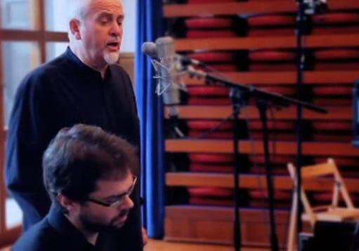 """Peter Gabriel, """"Wallflower"""""""
